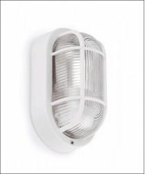 FARO Ovalo 71000 Lampada per Esterno da Parete Bianco