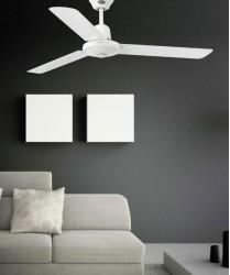 FARO Eco Indus 33005 Ventilatore da Soffitto Bianco