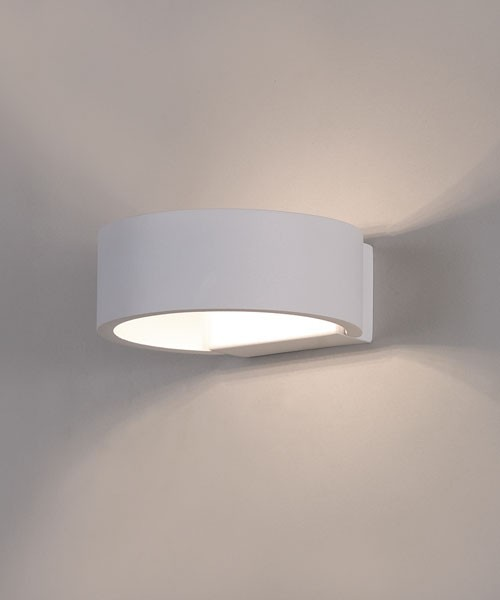 ACB Luna 16/3307 Applique a LED Moderna Finitura Bianco