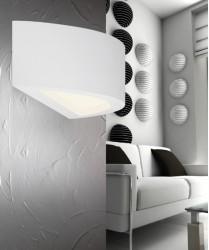 PAN Boreale PAR10326 Applique in Gesso Verniciabile a LED