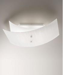 ANTEALUCE Fold 6482.70 Plafoniera Moderna in Vetro Texturizzato