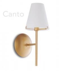 FAN EUROPE Canto AP1 Lampada Parete Classica 1 Luce Oro