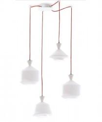 FAN EUROPE Sugar S4 Lampadario Moderno 4 luci