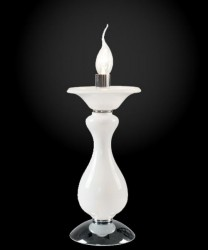 FAN EUROPE Soffio-LUME Lampada Classica da Tavolo 1 Luce Bianco