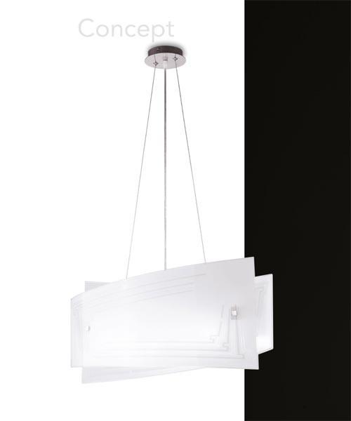 FAN EUROPE Concept S60 Lampadario Moderno 4 Luci