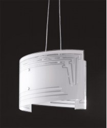 FAN EUROPE Concept S45 Lampadario Moderno 2 Luci