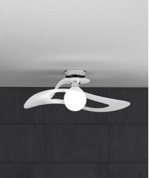 TOPLIGHT Surf 1145/PL50 BI Plafoniera Modrna 50cm Bianco