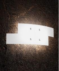 TOPLIGHT Tetris 1120/AP Applique Moderna 57cm Vetro Bianco