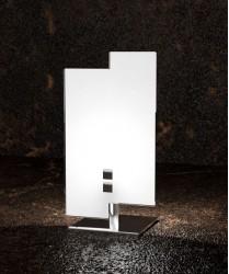 TOPLIGHT Tetris 1120/P Lumetto Moderno Vetro Bianco