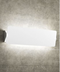 TOPLIGHT Screen 1108 AG-BI Applique Moderna 50cm Bianco