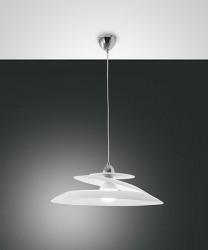 FABAS Aragon 3357-42-102 Lampadario Moderno 53cm Bianco LED