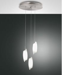 FABAS Roxie 3300-47-178 Lampadario a LED Moderno 3 Luci 24w