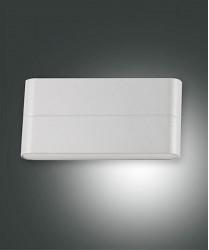 FABAS Casper 6788-02-844 Applique da Esterno a LED Argento