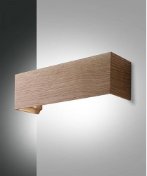FABAS Badia 3383-21-215 Applique Moderna a LED Legno