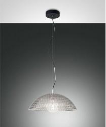 FABAS Diamond 3635-40-126 Lampadario Moderno Vetro Fumè