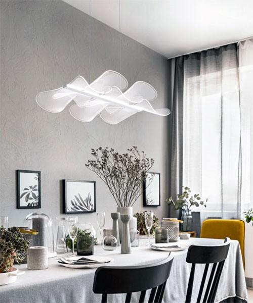 FABAS Sylvie 3626-49-102 Lampadario Moderno a LED