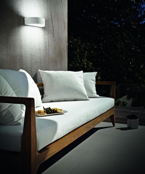 FABAS Wapi 6820-02-954 Applique da Esterno LED Bianco
