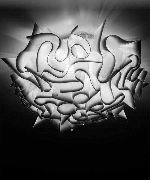 SLAMP Veli Charcoal Medium Plafoniera Moderna Soffitto - Parete