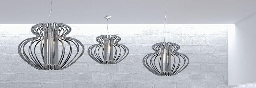 LAMPADARI MODERNI online in vendita a prezzi socontati